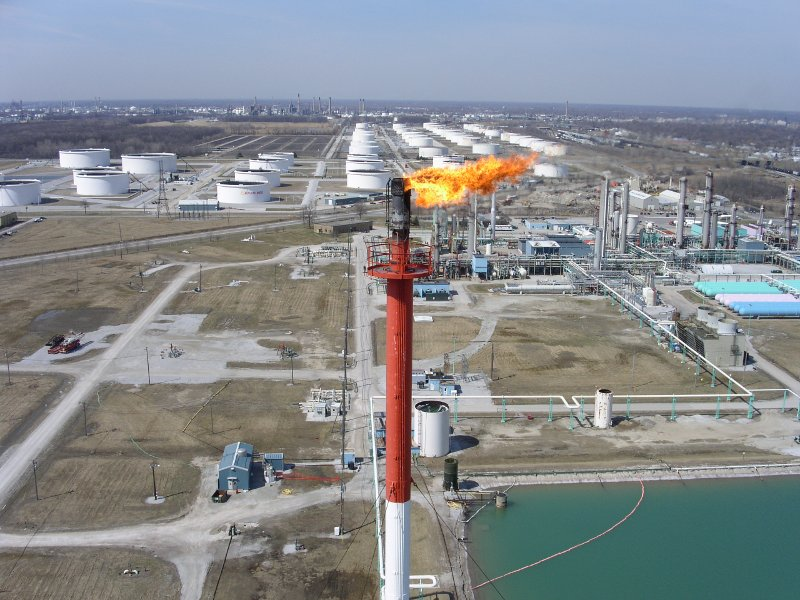 Remote Aerial Inspection Services for Flare Stacks and Wind Turbines